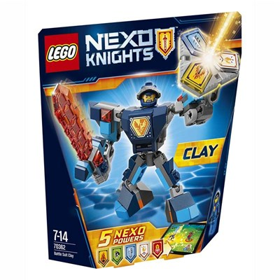 Clay Nexok - La super armure - multicolore