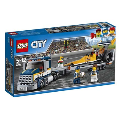 Transporteur du dragster City - multicolore