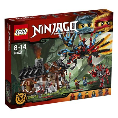 Ninjago - La forge du dragon - multicolore