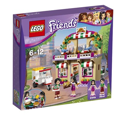 Friends - Coffret La pizzeria - multicolore