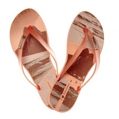 Wave Tropical - Tongs - orange