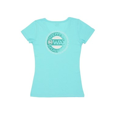 Wax - T-shirt - turquoise