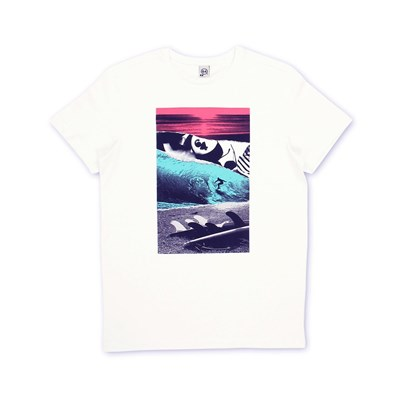 Session - T-shirt - blanc