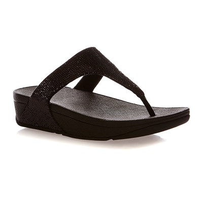 Fitflop Electra micro toe-Post - tongs - noir