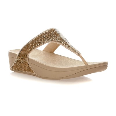 Fitflop Electra micro toe-Post - tongs - or
