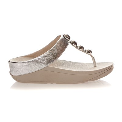 Fitflop Rola - baskets - argent