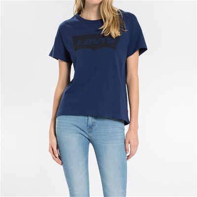 The Authentic Tee - T-shirt - denim bleu