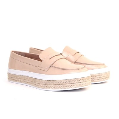 Carlton London mocassins en cuir - beige