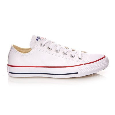 All Chuck Cuir Taylor Blanc Ox En Star Converse Baskets q6fEw7