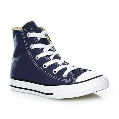 YTHS CHUCK TAYLOR ALL STAR HI NAVY - Baskets montantes - bleu