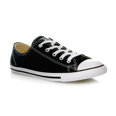 CHUCK TAYLOR ALL STAR DAINTY OX BLACK - Baskets montantes - noir