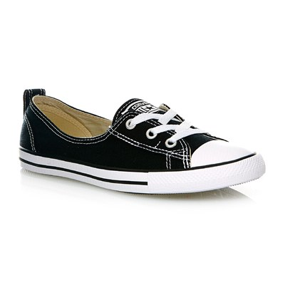 CHUCK TAYLOR ALL STAR BALLET LACE SLIP BLACK - Baskets montantes - noir