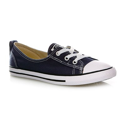 CHUCK TAYLOR ALL STAR BALLET LACE SLIP NAVY - Baskets - bleu foncé