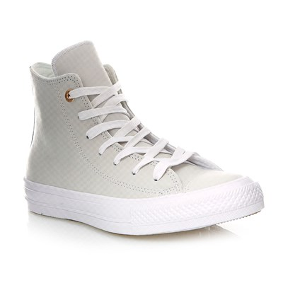 CHUCK TAYLOR ALL STAR II HI BLUE FLOWER/WHITE/WHITE - Baskets montantes en cuir - ecru