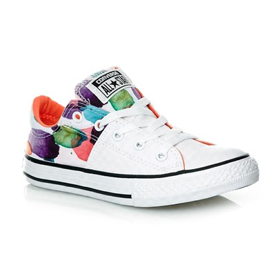 CHUCK TAYLOR ALL STAR MADISON OX WHITE/WILD MANGO/BLACK - Baskets - multicolore