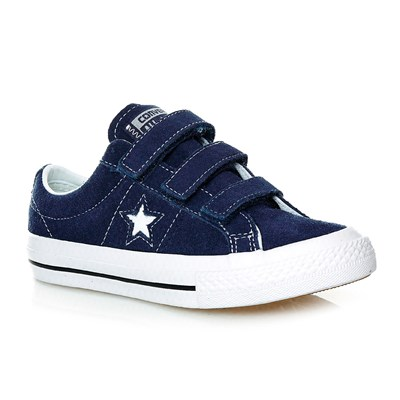 ONE STAR 3V OX NAVY/WHITE/BLACK - Baskets - bleu marine