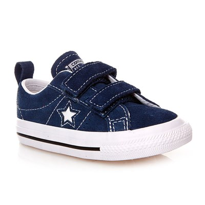 ONE STAR 2V OX NAVY/WHITE/BLACK - Baskets montantes - bleu marine
