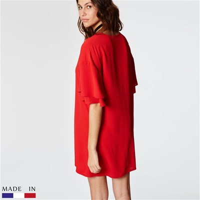BRANDALLEY LA COLLECTION Dina - Robe droite - rouge