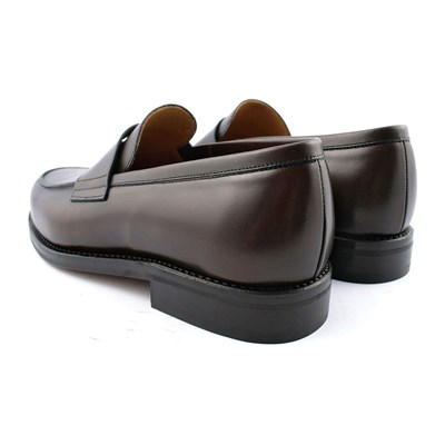 EXCLUSIF PARIS Lord - Mocassins en cuir - marron