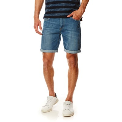 Cane - Short - denim bleu