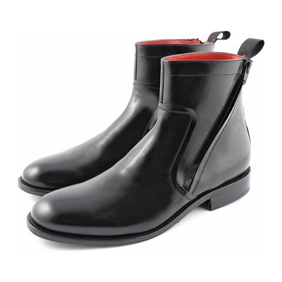Borys - Bottines en cuir - noir
