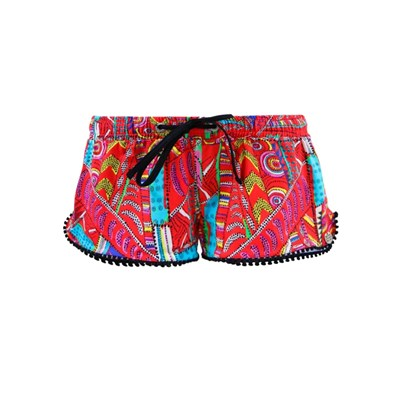 Banana Moon pomkanahela torquay - mini short - rouge