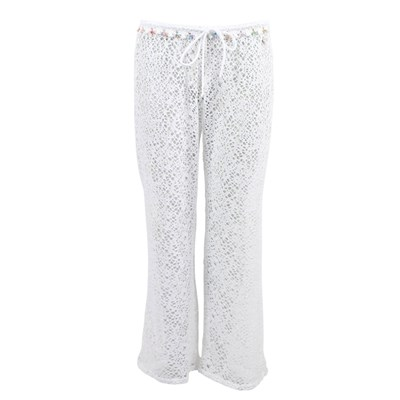 Banana Moon seethrough stef - pantalon - blanc