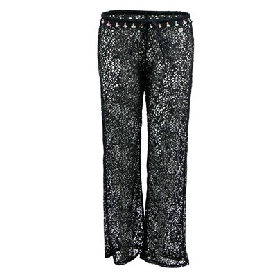 Banana Moon seethrough stef - pantalon - noir