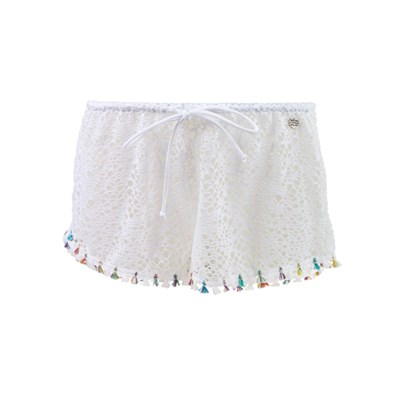 Banana Moon seethrough zooey - short - blanc