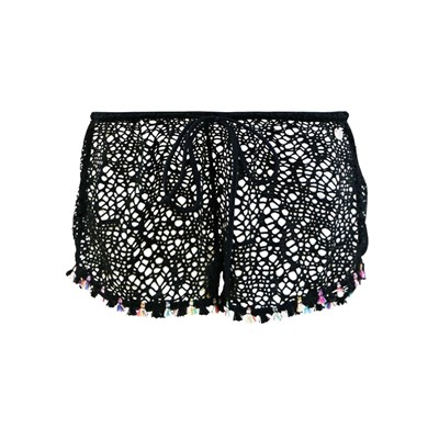 Banana Moon seethrough zooey - short - noir