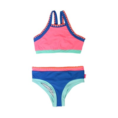 Seafolly Seafolly festival surf - maillot 2 pièces - rose