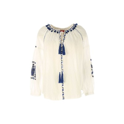 Bicroshop - Blouse - blanc