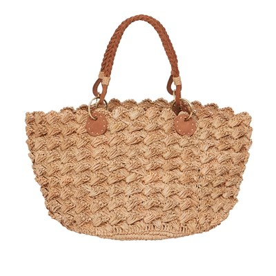 Achille Small - Sac shopping - beige