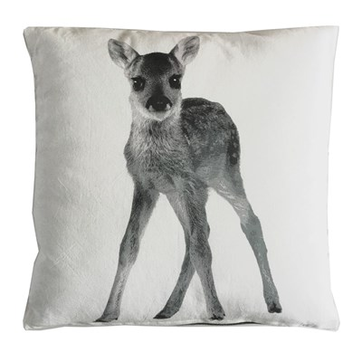 Art For kids faon - coussin carré réversible - gris