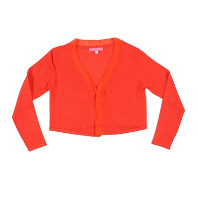 Sally - Cardigan - orange
