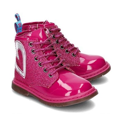 Bottines - fuchsia