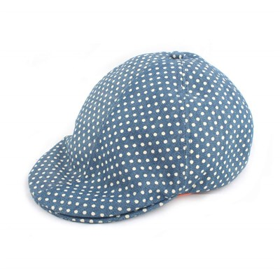 Afield Chambray polka - casquette - bleu