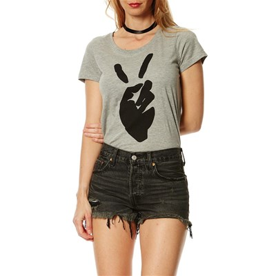 Julie - T-shirt - gris clair