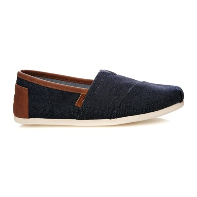 SEASONAL CLASSICS - Espadrilles - denim noir