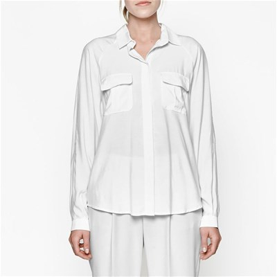 French Connection Camisa casual - blanco
