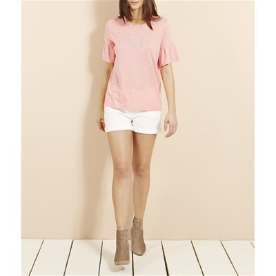 T-shirt Chic - rose clair