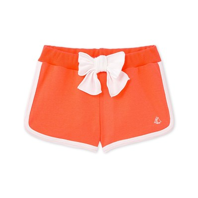 Short fille - orange