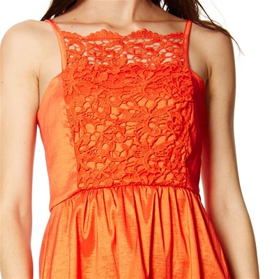 Naf Robe Orange Fluide Fluide Naf Robe Naf Orange Robe ZqZvX6x7Ow