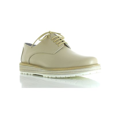 Adem 304 - Derbies en cuir - lin