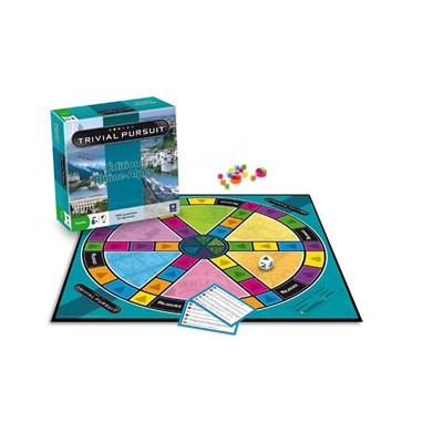 Winning Moves trivial pursuit - multicolore