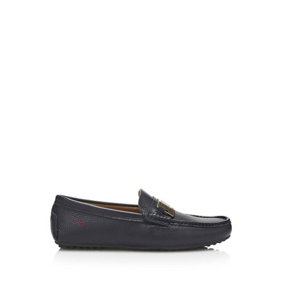 Gregory - Mocassins en cuir - noir