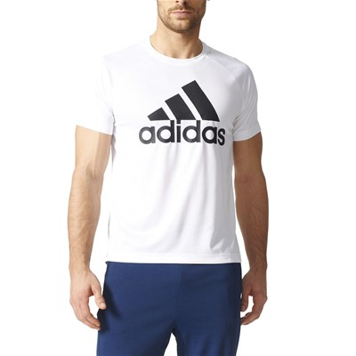 Adidas Performance t-Shirt manches courtes - blanc