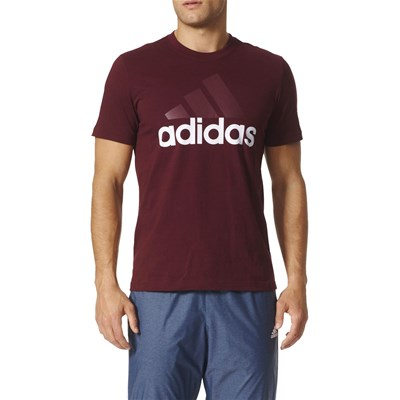Adidas Performance tops, t-Shirts - bordeaux