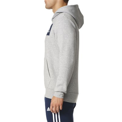 ADIDAS PERFORMANCE Sweat à capuche - gris clair