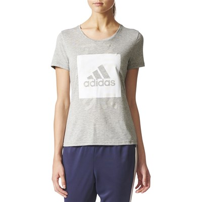 Adidas Performance tops, t-Shirts - gris clair